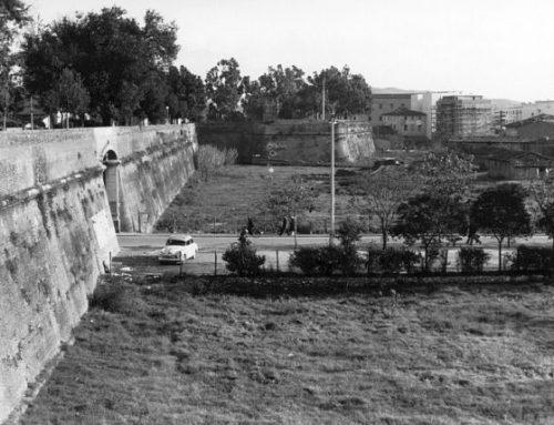 Le mura di Grosseto negli anni 50. Passeggiate bellissime tra giardini fioriti e piante secolari